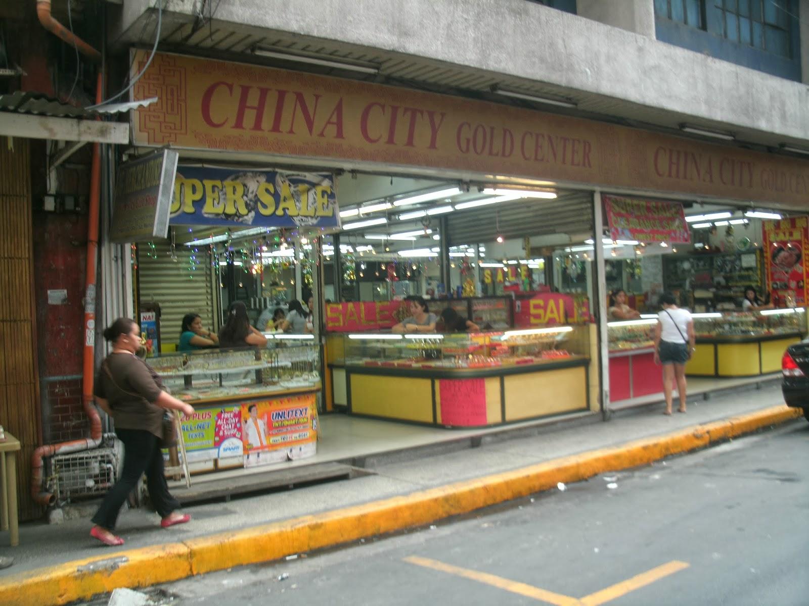 Ongpin Gold Center