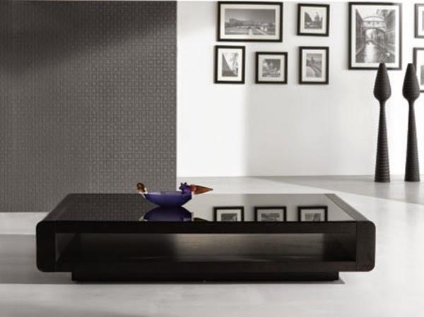 Simple Coffee Table Modern black coffee table. modern black coffee table. round coffee table