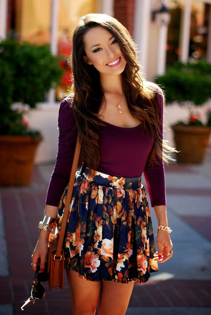 Cute Spring Women's Style