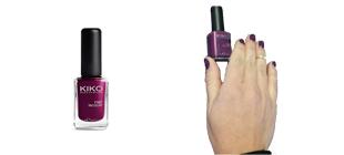 Manicure com Verniz Kiko 315
