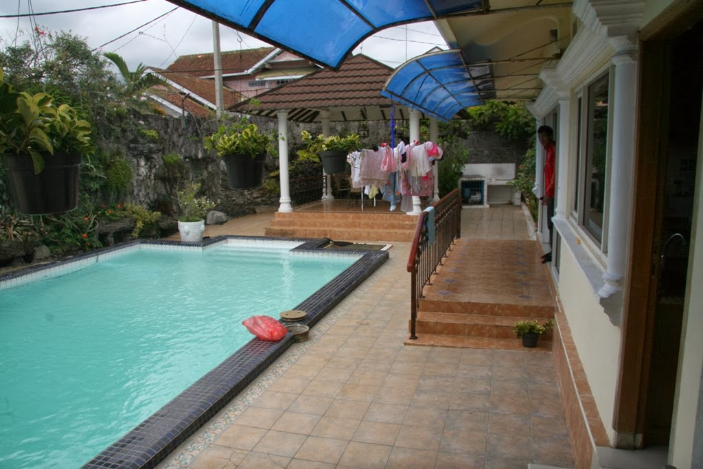 sewa villa villa di puncak dengan kolam renang pribadi