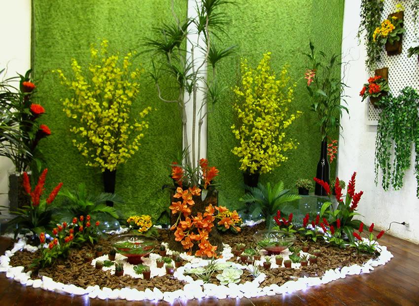 de Jardins Pequenos para sua casa – Dicas Atuais ~ ideias para