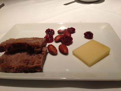 Cheese at Farallon restaurant in San Francisco