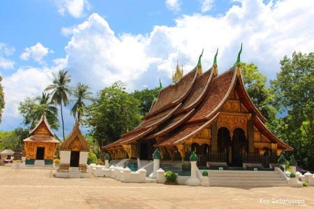 ວັດຊຽງທອງ ຫຼວງພຣະບາງ Wat Xiengthong LPB Laos