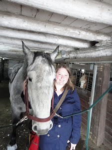 Myself and Paula the Percheron