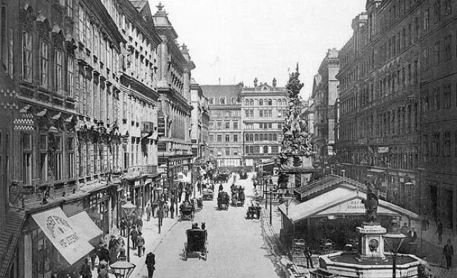 Vienna 1892 and full of cakes