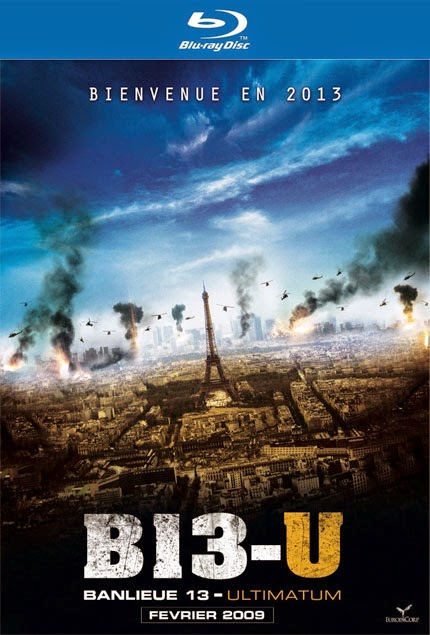 Tehlikeli Bölge - Banlieue 13 Ultimatum - bluray poster