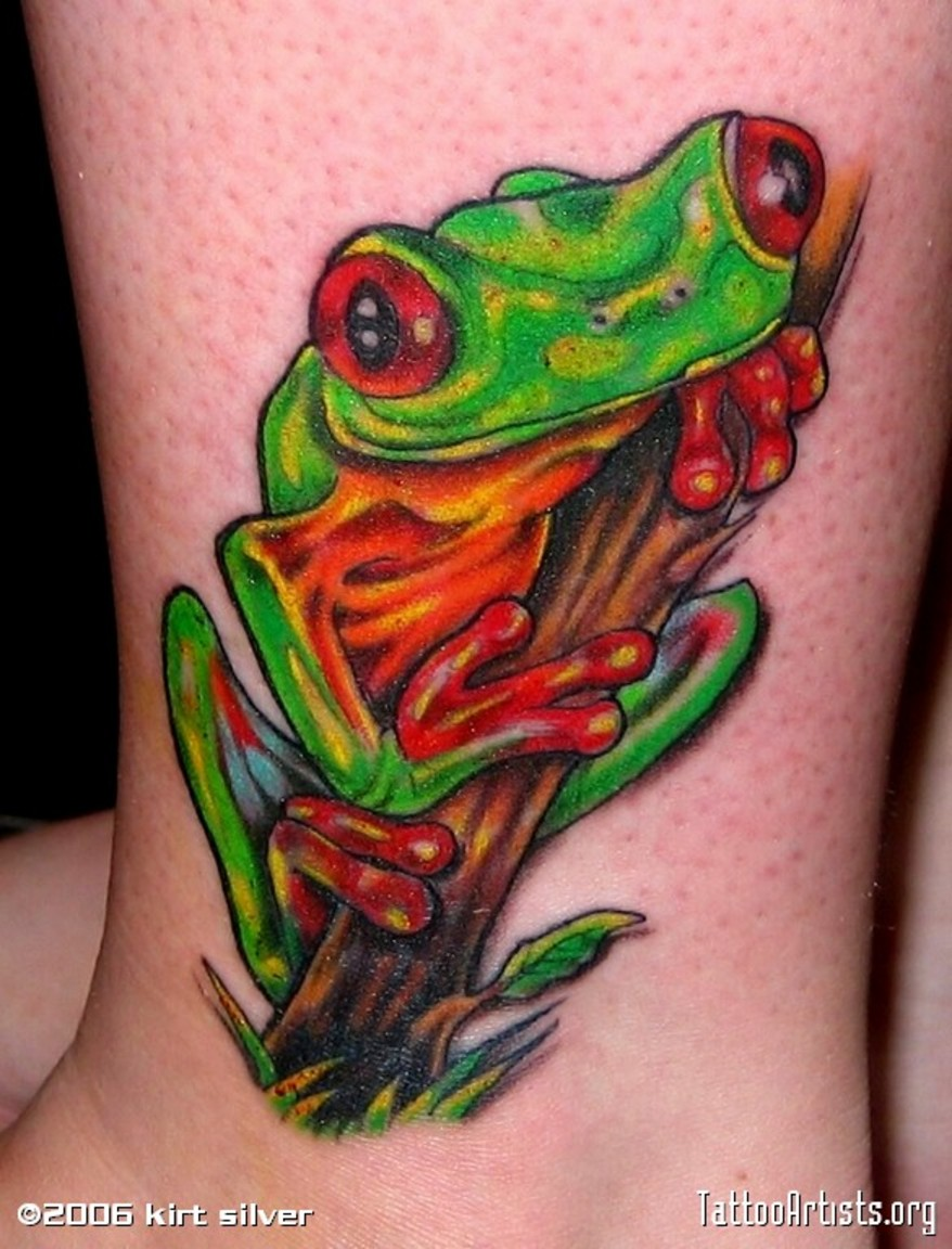 Symbolic Meaning Of Frog Tattoo