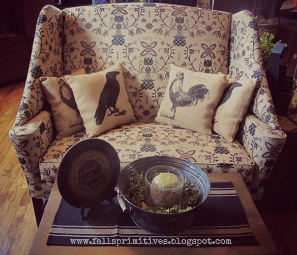 The Falls Country Gift Shoppe Primitive Sofas Love Seats And Chairs