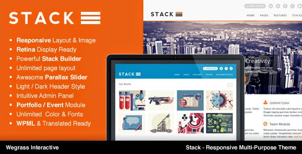 Stack v1.2.2 Responsive Multi-Purpose Theme WordPress – ThemeForest