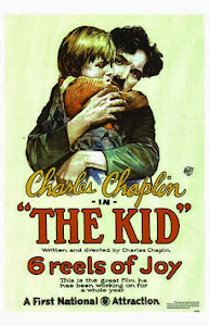 Poster Of Hollywood Film Charlie Chaplin The Kid (1921) In 300MB Compressed Size PC Movie Free Download At worldfree4u.com
