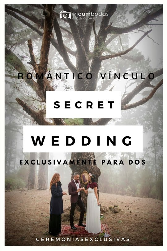 Elopement, cómo disfrutar de una boda única y sin invitados.
