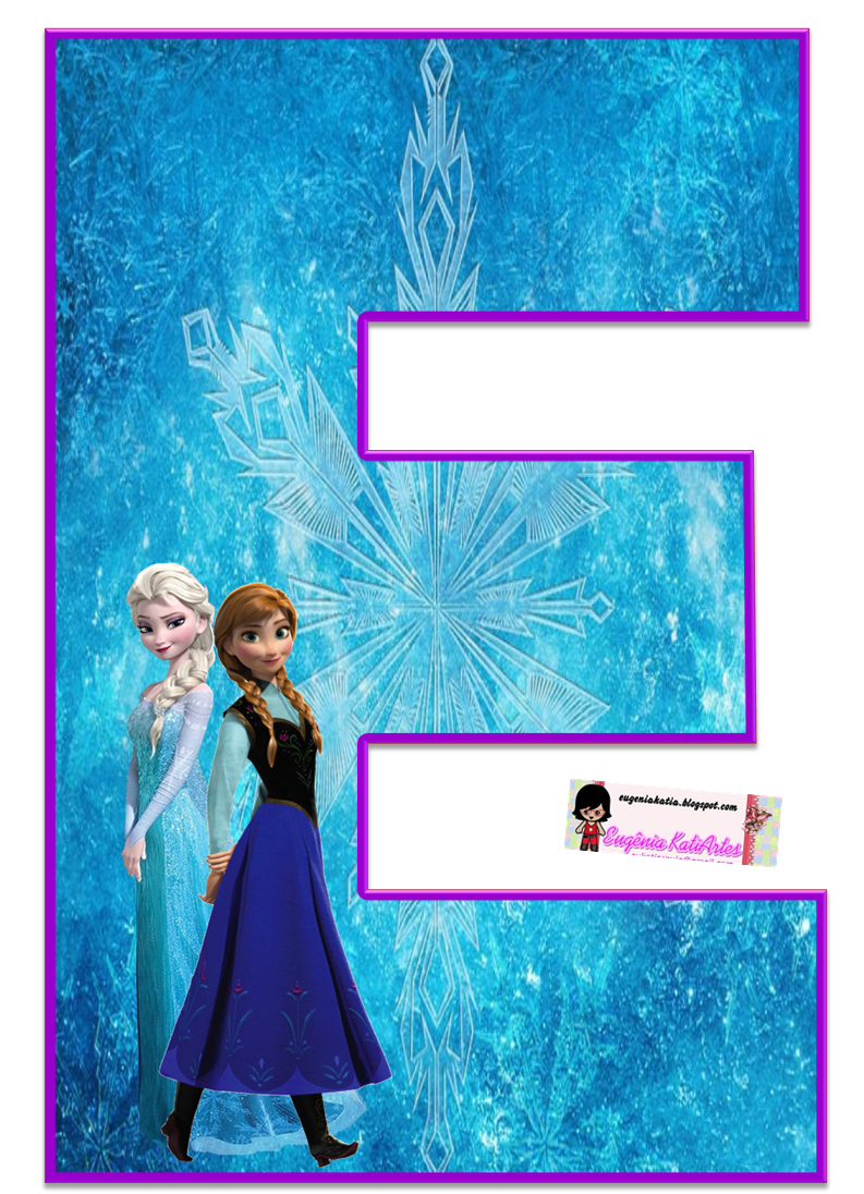 elsa letter e coloring pages - photo#35