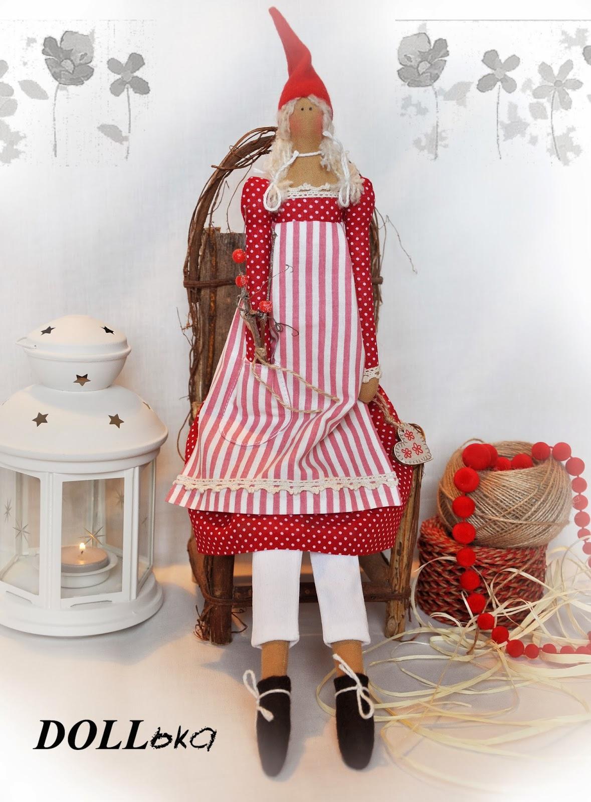 Санта-девочка тильда