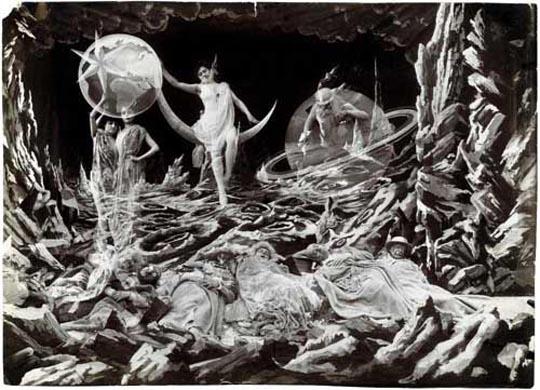 """""""Viaje a la Luna"""" Georges Mèlies. 1902"""