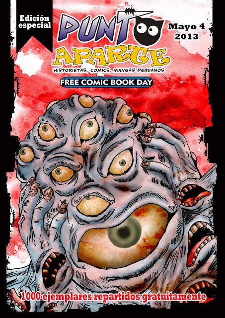 Punto Aparte edición especial por Día del comic gratis 2013