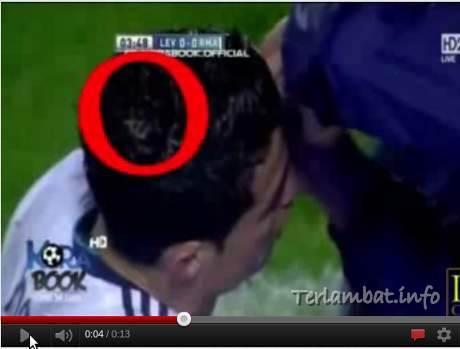 Tulisan Allah di Kepala Cristiano Ronaldo