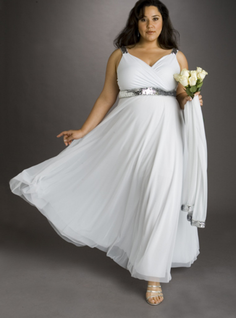 Robes de mariage robes de soir e et d coration robe de for Taille plus mariage dresse