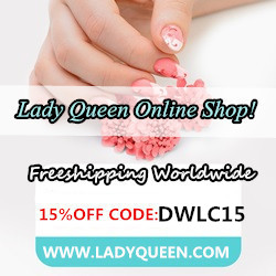 15% DISCOUNT CODE Lady Queen