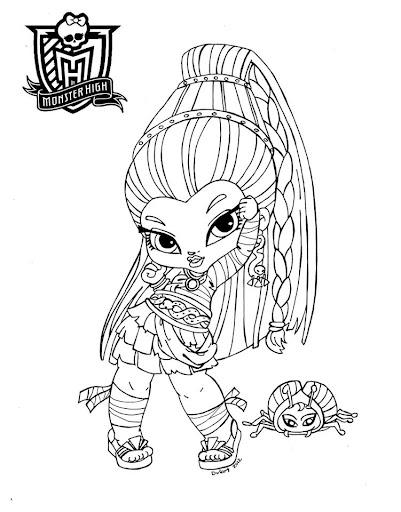 Monster High dibujos para imprimir y colorear: Dibujos Monster High ...