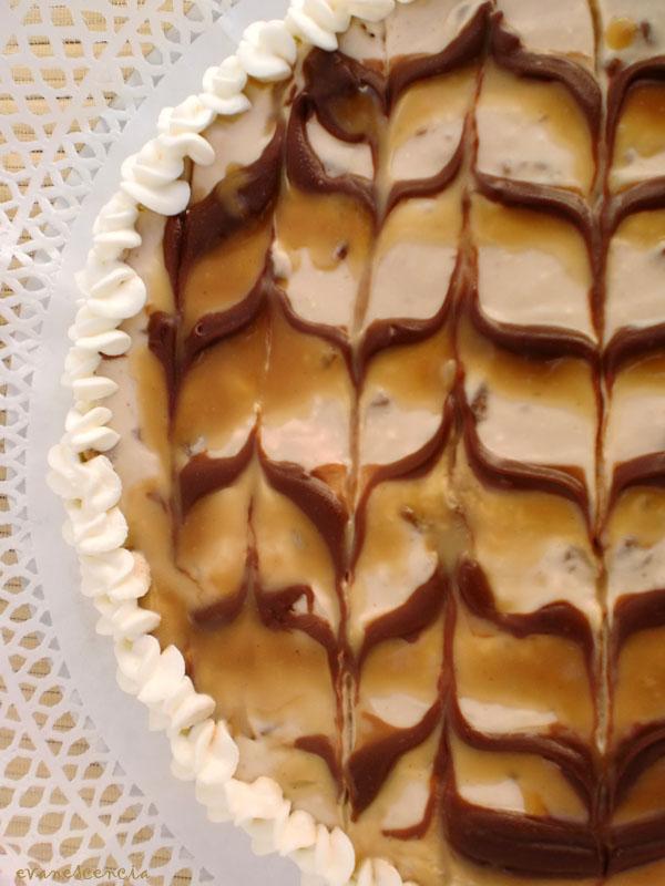 tarta de queso chocolatinas mars