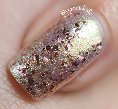 Sugarpill Celestia by Bedlam Beauty- glossy macro