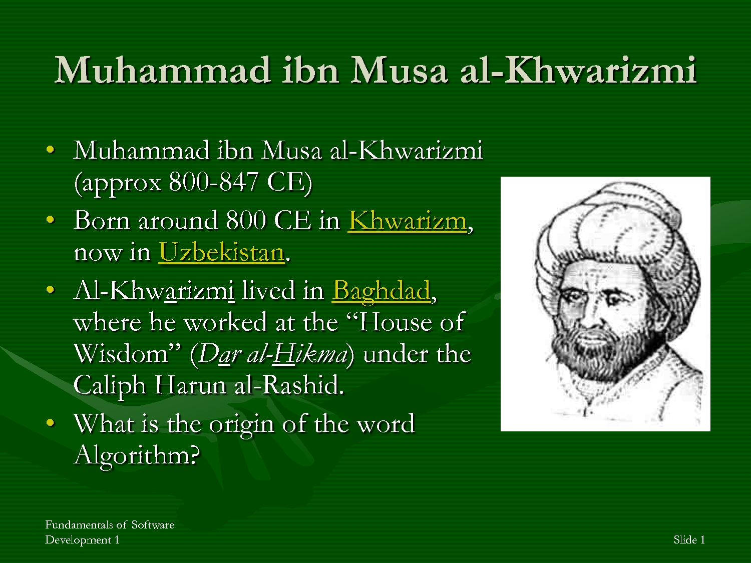 abu ja'far al khwarizmi Abu ja'far muhammad ibn musa al-khwarizmi al-khwarizmi was known for: writing major works on astronomy and mathematics that introduced hindu-arabic numerals and the idea of algebra to european scholars.