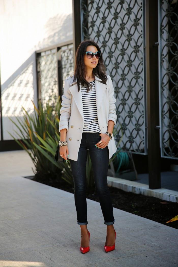 Fashion Blog by Annabelle Fleur: SUNSHINE & STRIPES - DAY 2 IN SAN DIEGO
