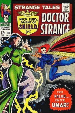 Strange Tales #150 comic cover