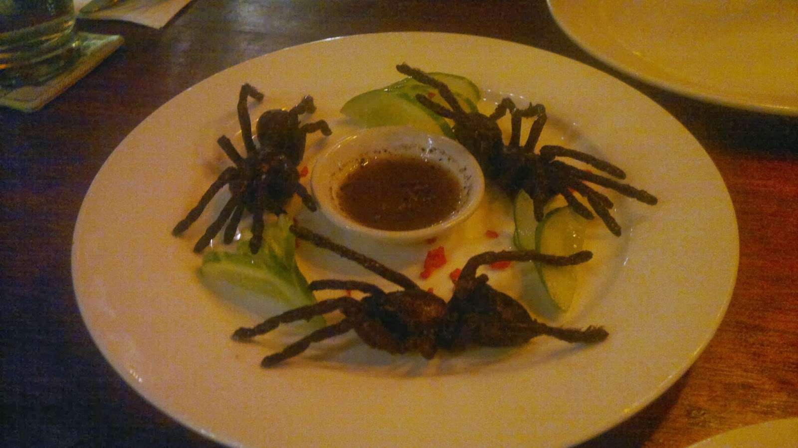 And deep-fried on my plate! & TARANTULA SPIDER FOR DINNER?! | SUCCESS IN HIGH HEELS