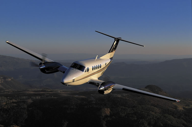 Turbo Prop Beechcraft King Air 200