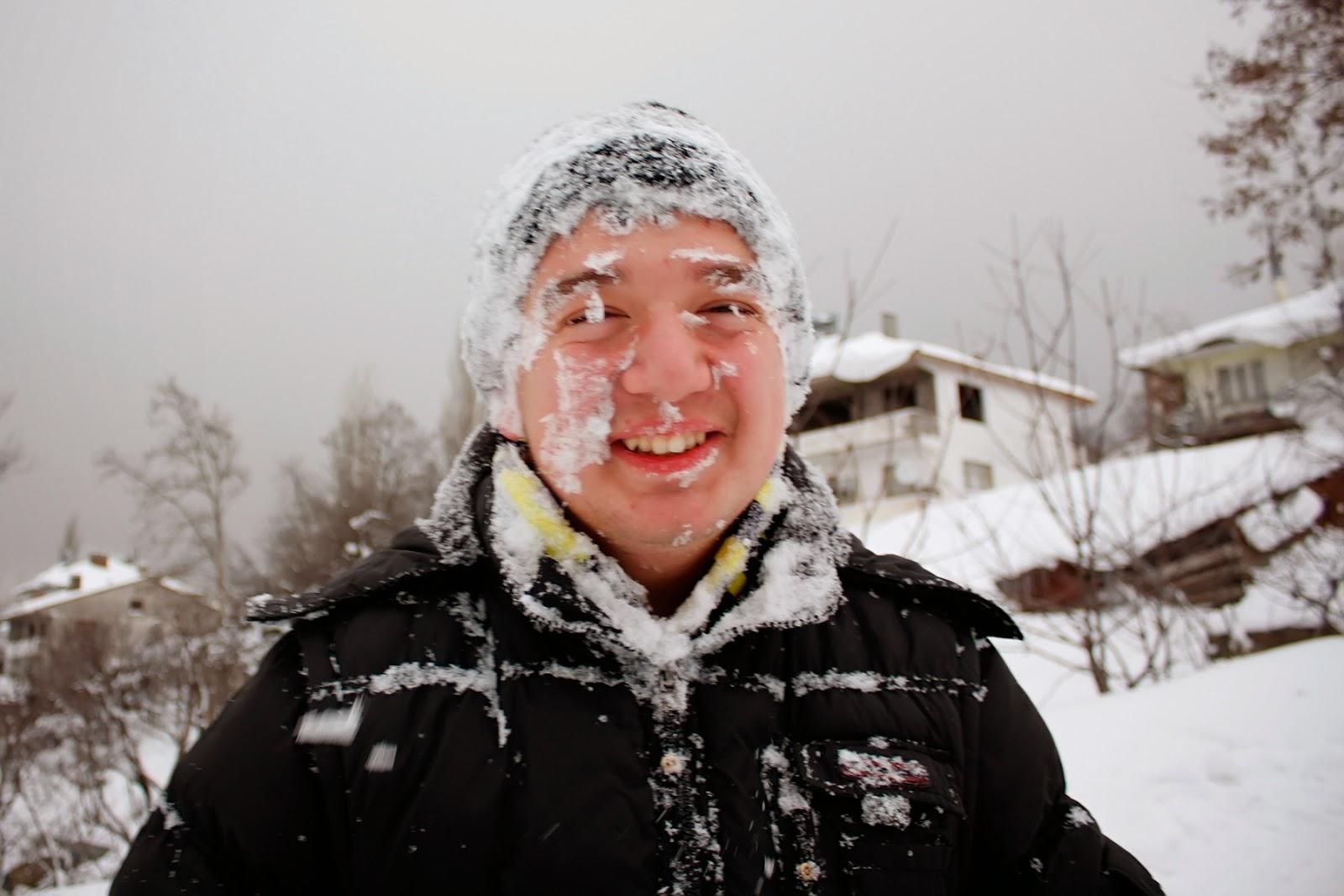 Sugören'de Kış - Karda Kayan Çocuklar-9