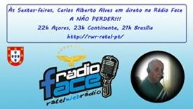 CARLOS ALBERTO ALVES ÀS SEXTA-FEIRAS NA RÁDIO FACE