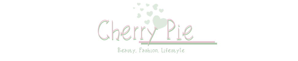 Cherry Pie - UK Beauty, Lifestyle and Fashion blog