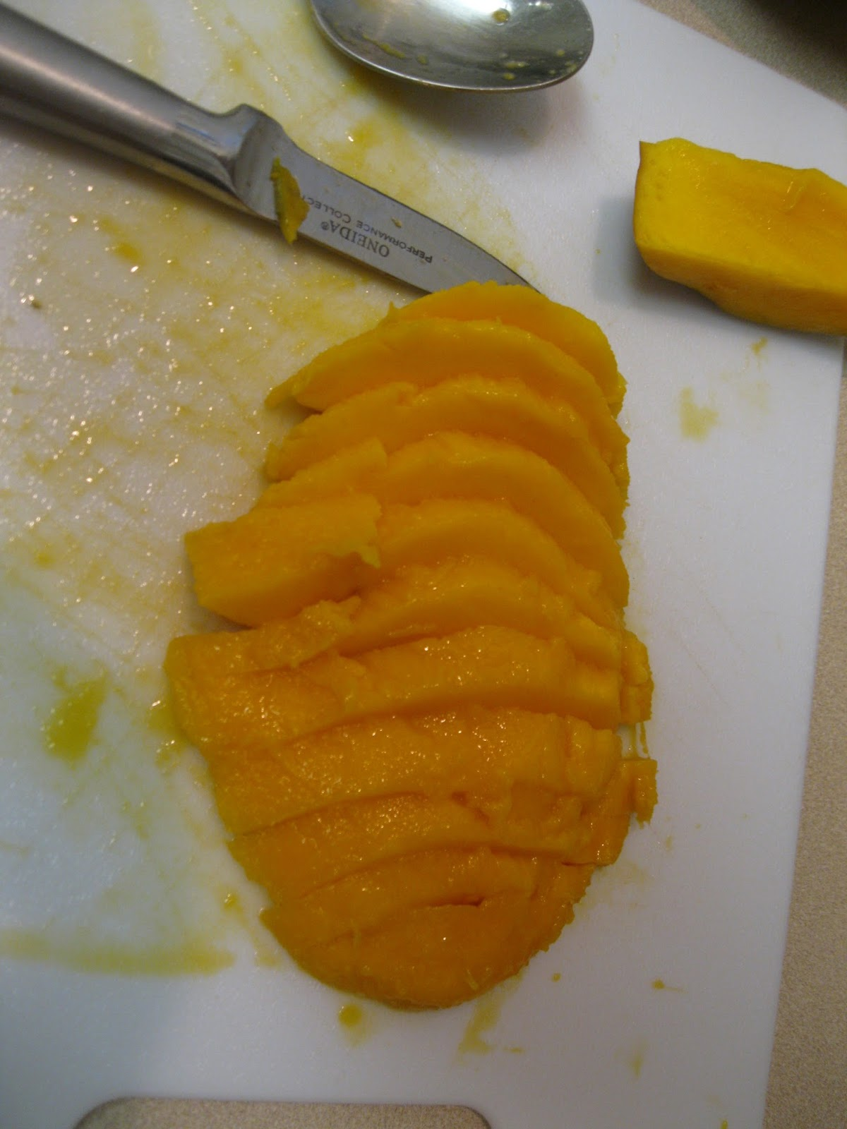 how to cut mango pretty