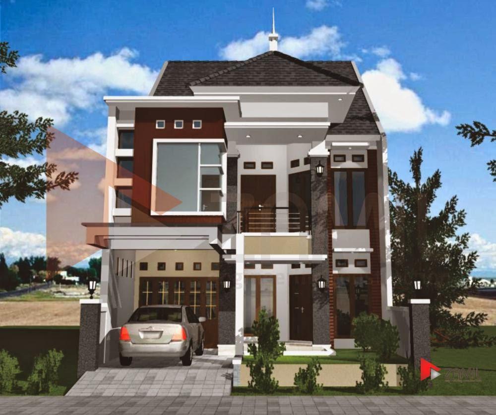 arsitektur rumah minimalis 2 lantai type 36 1001 desain