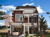 Gambar Denah Rumah 2 Lantai Minimalis Design Arsitektur 2017