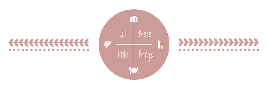 all these little things