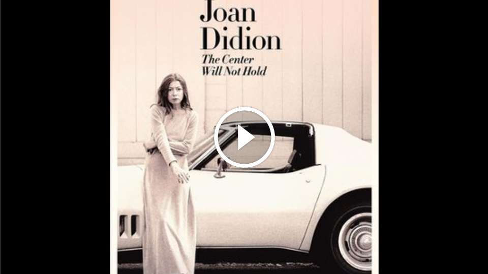 joan didion good by to It would be joan didion, were i facing gates inscribed abandon all hope, whom i would want to guide me through the architecture of hell she is already half specter to me, a figure who walked my young mind until her pacings wore the floor and she has already provided the most comprehensive tour.