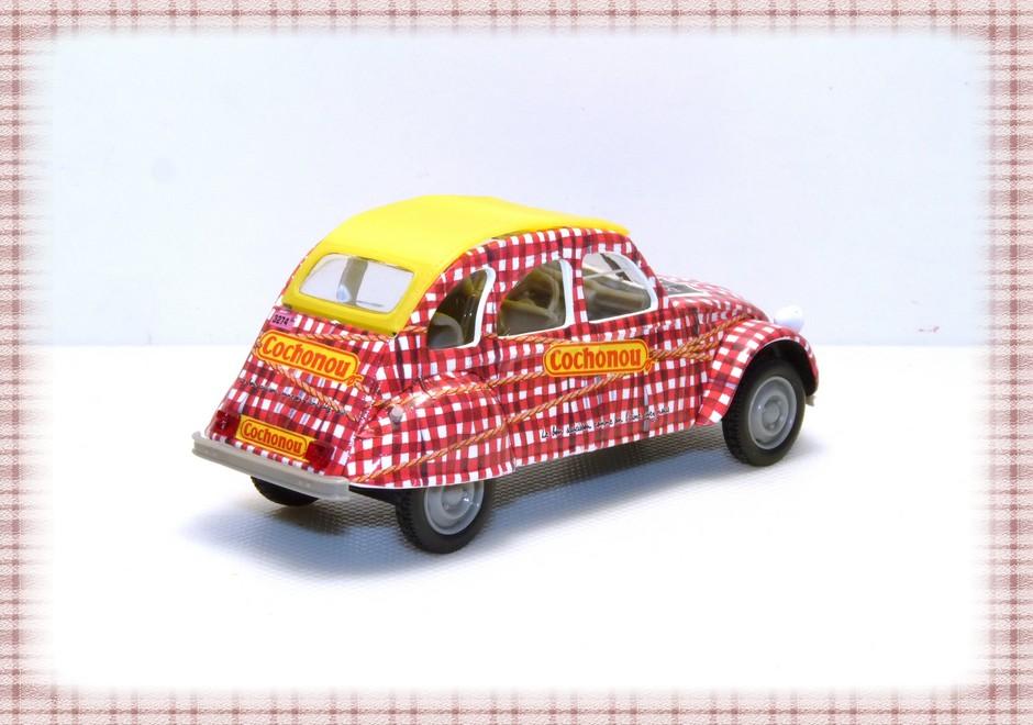 Garage de poche jip citro n 2cv6 for Garage citroen melun 77