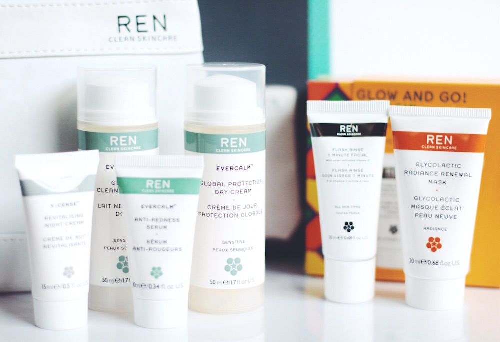 ren skincare coffrets soins visage corps avis test