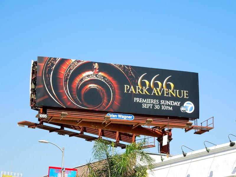 666 Park Avenue season 1 billboard