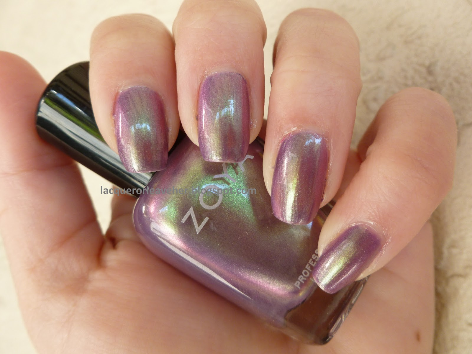 Lacquer or Leave Her!: Polished Pairings: Zoya Adina
