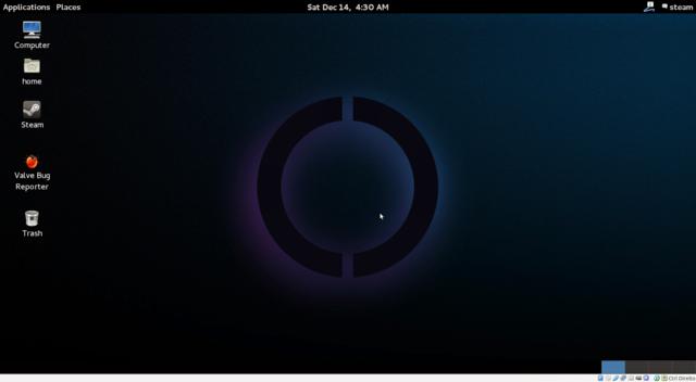 Área de trabalho Steam OS