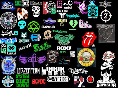 perfect cool band logos