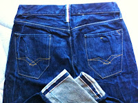 replay jeans size 33 L34- made in italy