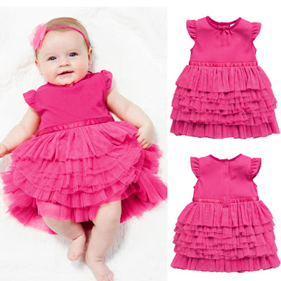 model baju bayi baru lahir perempuan cantik