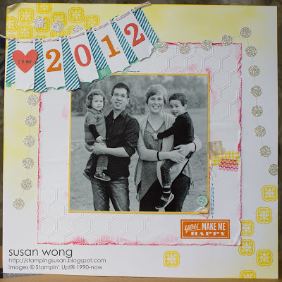 Susan Wong. SU Cover Inspiration Layout
