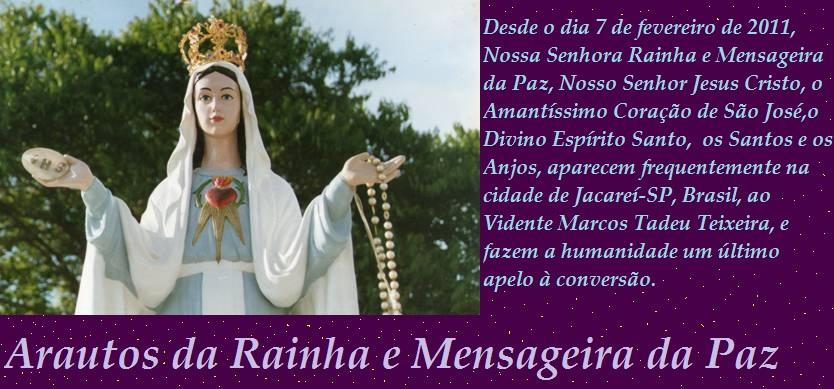 Arautos da Rainha e Mensageira da Paz