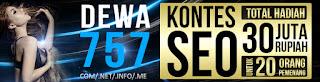 Dewa757.net Agen Poker Domino 99 Ceme Blackjack Online Indonesia